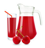 Cherry juice — Foto de Stock