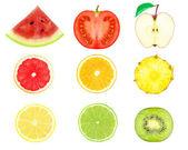 Fruit slices — Stock Photo