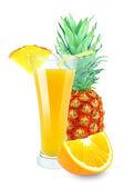 Orange-pineapple juice — Stock Photo