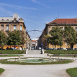 Zagreb park — Stock Photo