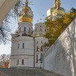Uspensky cathedral, Kiev-Pechersk lavra monastery. Ukraine. — Stock Photo