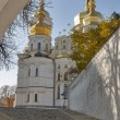 Uspensky cathedral, Kiev-Pechersk lavra monastery. Ukraine. - Stock Photo
