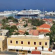 Port in Rhodes city — Stock Photo