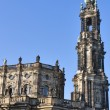 Catholic Church of the Royal Court of Saxon in Dresden, Germany — Stock Photo