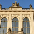 Dresden Johanneum building at dusk — Stock Photo