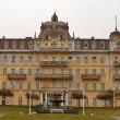 Abandoned hotel in Marianske Lazne (Marienbad Spa), Czech Republ - Stock Photo