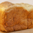 Loaf of homemade white bread — Lizenzfreies Foto