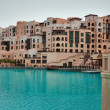 Residential houses in Dubai — Stock Photo