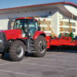 Stock Photo: Wheeled modern tractor