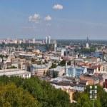 Kiev cityscape panorama — Stock Photo #23179150