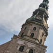 Tower of Riga Cathedral — Stock Photo #23179308