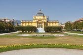 Art pavillion in Zagreb. Croatia — Stock Photo