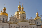 Assumption (Uspensky) temple in Pecherska Lavra, Kiev — Stock Photo