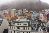 Karlovy Vary cityscape — Stock Photo