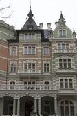 Karlovy Vary gothic architecture — Stock Photo