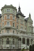 Karlovy Vary gothic spa architecture — Stock Photo