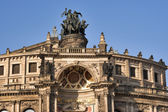 Semper Opera House in Dresden — Stock Photo