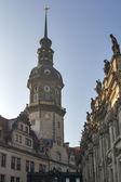 德累斯顿城堡 — 图库照片