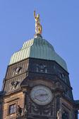 Dresden tyskland stadshuset — Stockfoto
