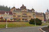 Verlaten hotel in marianske lazne (marienbad spa), tsjechië — Stockfoto