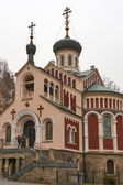 Russian Orthodox Church of St Vladimir — Stock Photo