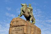 Bohdan Khmelnytsky monument in Kiev, Ukraine. — Stock Photo