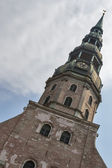 Tower of Riga Cathedral — Stock Photo