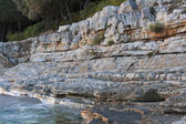 Adriatic stone beach — Stock Photo