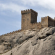 Sudak fortress - Stock Photo