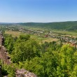View from Nevytsky Castle panorama - Foto Stock