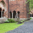 Old cathedral court yard — Stock Photo #23183390