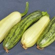 Fresh vegetable marrows — Stockfoto