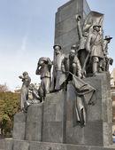 Taras Shevchenko monument in Kharkov — Stock Photo