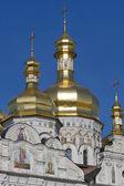 Cupola of Kiev Pechersk Lavra, Ukraine — Stock Photo