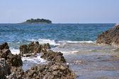 Los interruptores e isla del mediterráneo — Foto de Stock