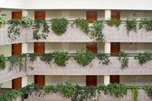 отель коридоры — Стоковое фото