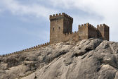 Festung von sudak — Stockfoto
