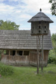 Wooden pigeon house — Stock Photo
