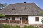 Traditional Ukrainian house — Stock Photo