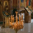 Orthodox church inside — Stock Photo #23204016