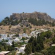 Stock Photo: Lindos on Rhodes