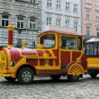 Sightseeing car train — Stock Photo
