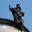 Lviv statue — Stock Photo