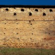 Royalty-Free Stock Photo: Medieval brick wall background