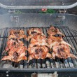 Grill quail — Stock Photo