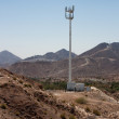 Mountain desert cell phone tower — Stock Photo #23206610