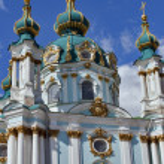 Sightseeing church in Kiev — Stock Photo #23207726