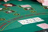 Mesa de poker — Fotografia Stock
