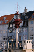 Copenhagen lighthouse boat — Foto de Stock
