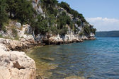 Small adriatic bay — Foto Stock